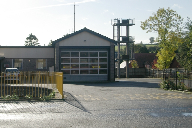 Cleobury Mortimer fire station