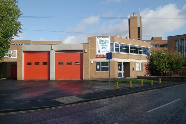 Stourport fire station