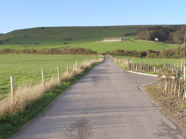 Toll road away from Ringstead beach
