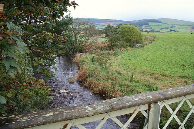 Bridge over the River Bogie near Smithston.