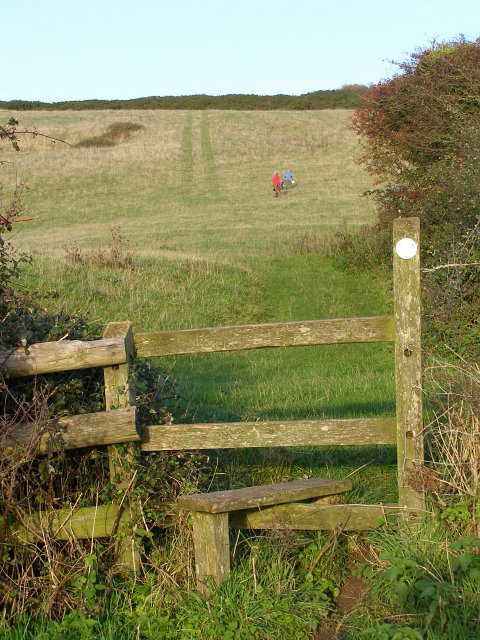 Stile on South Down, Ringstead