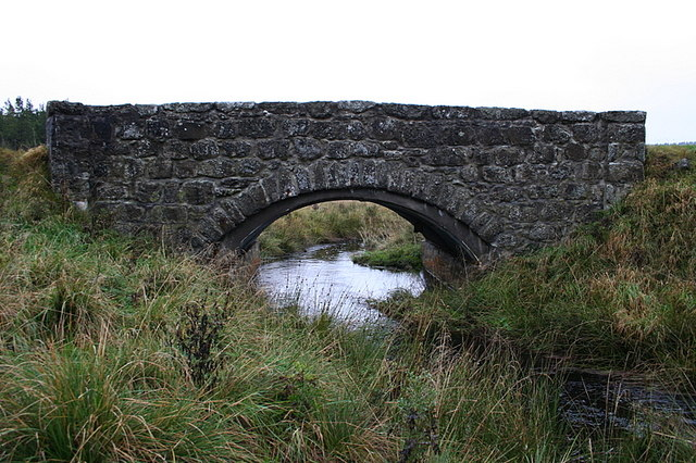 Cowford Bridge over Kirkney Water.