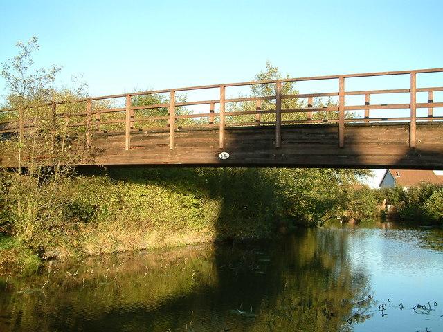 Footbridge (no. 64a), Worcester & Birmingham Canal nr Alvechurch