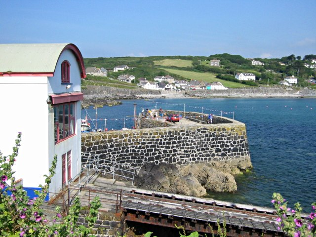 The Old Lifeboat Station and Harbour Wall