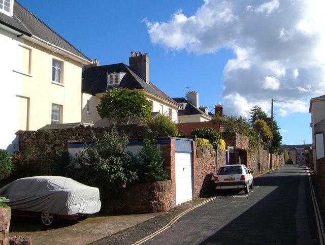 Lucky Lane, Exeter