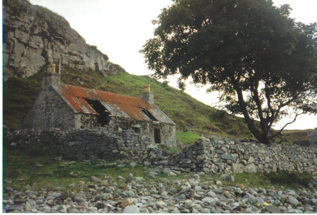 Ramshackled croft house,Elgol