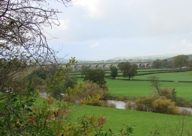 Arthington Viaduct from Arthington hall.