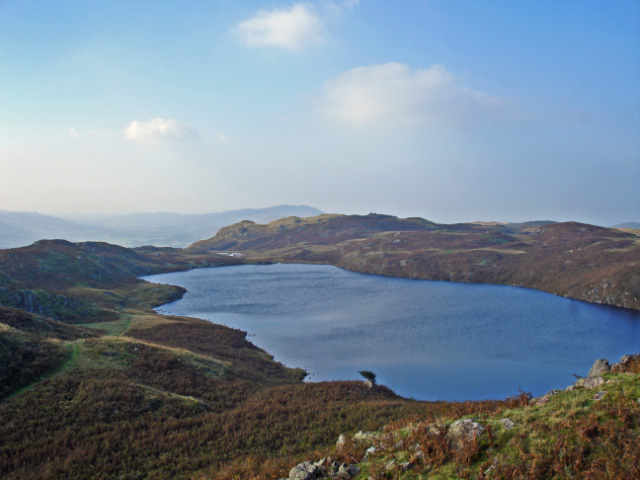 View of Blea Tarn
