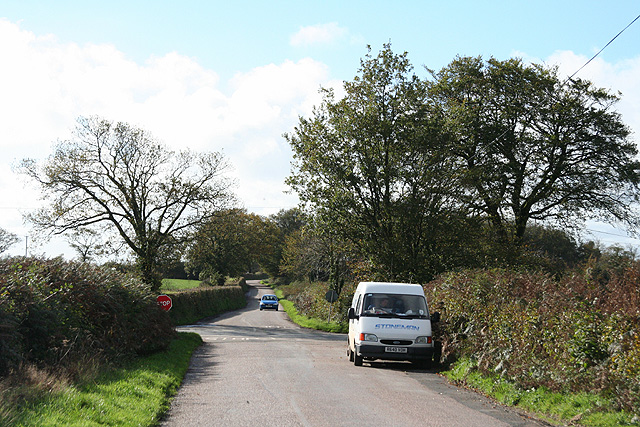 Meshaw: approaching Gidley Cross