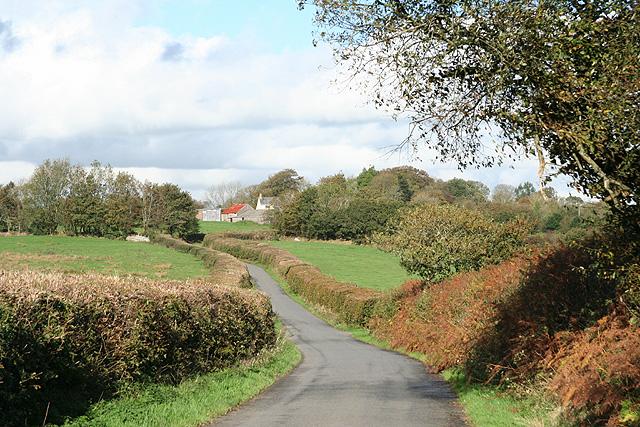 Romansleigh: towards the village