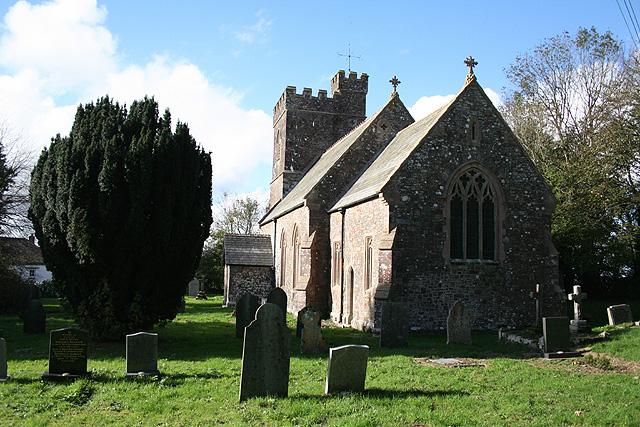 Romansleigh: St Rumon's church