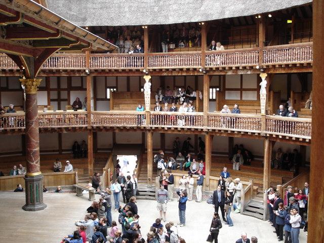 Inside Shakespeare's Globe, Southwark