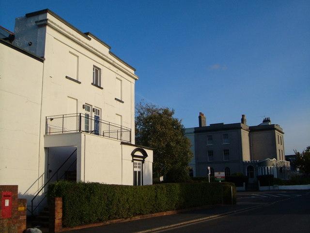 Regents Park from Polsloe Road, Exeter