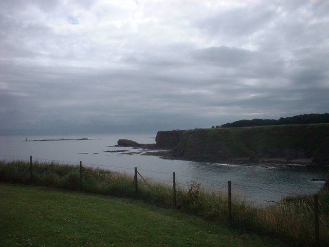 Coastline South of Tantallon Castle