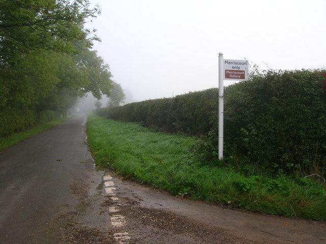 Merriscourt Sign