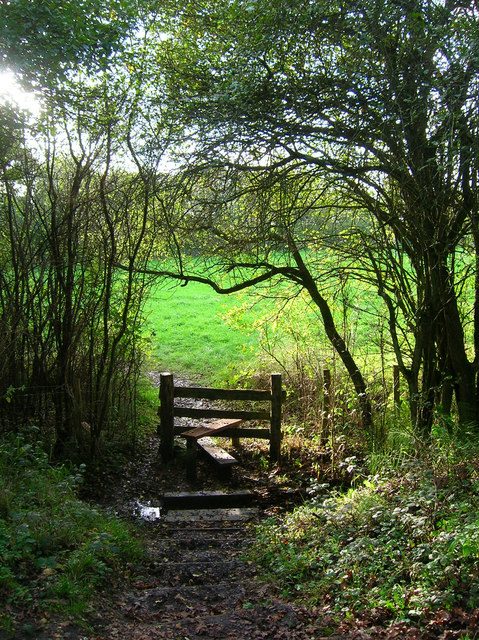 Footpath to Cogger's Cross