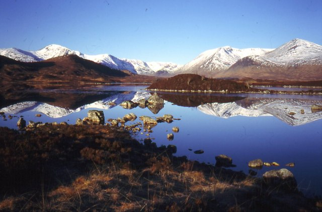 Lochan na h-Achlaise and the Black Mount
