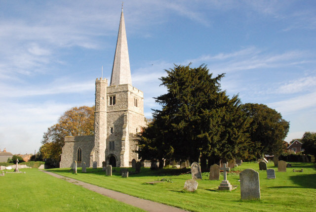 The Parish Church of St Werburgh, Hoo