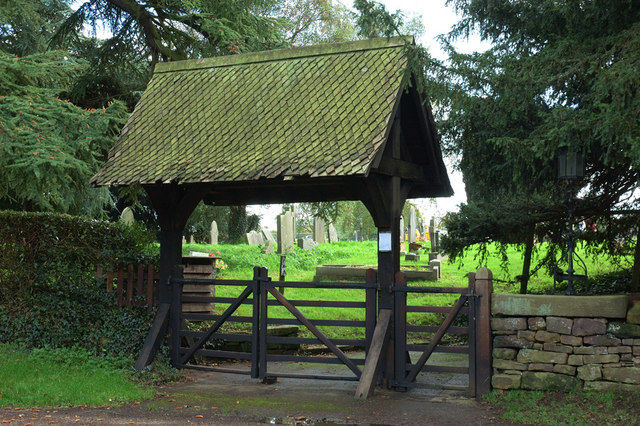 Lychgate, Kirk Langley Church