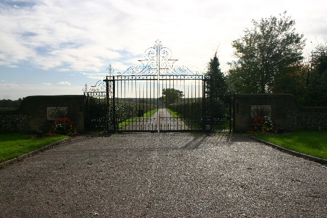 Entrance to Shadwell Stud