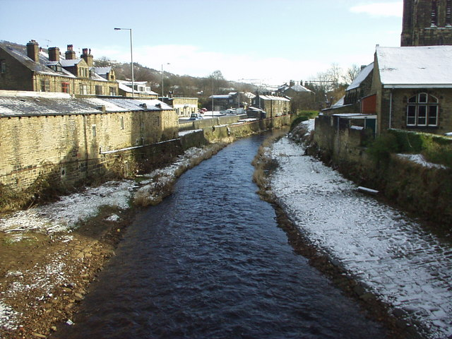 River Calder  at Mytholmroyd
