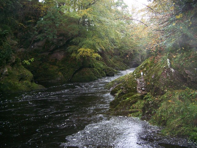 North Esk in Spate