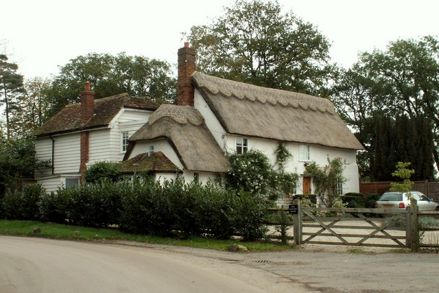Pretty thatched cottage, east of Furneux Pelham, Herts