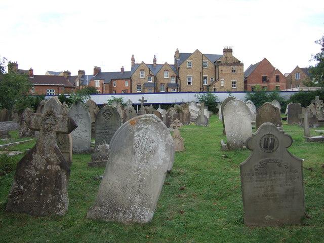 St Sepulchre's cemetery, Walton Street, Oxford