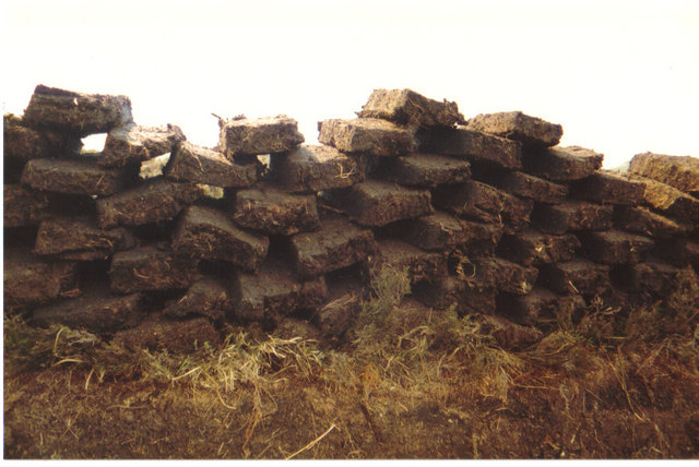 Drying the peats