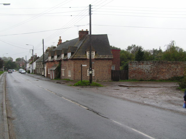 Cottages at the entrance to Melancholy Lane, Stoborough
