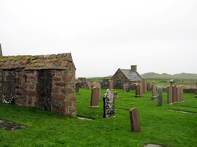 Watch House in St Fergus's Kirkyard