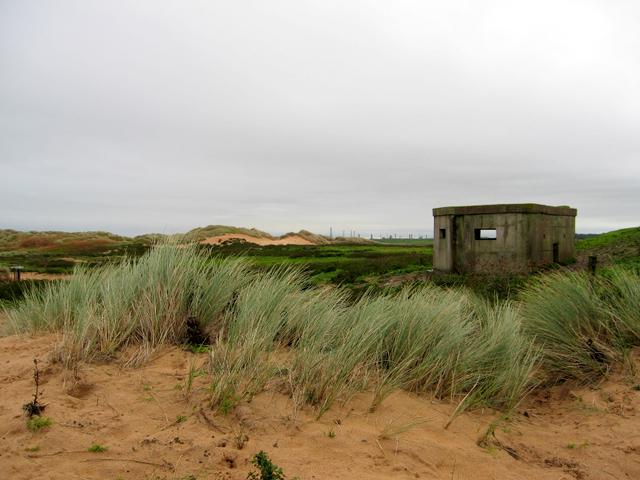 World war 2 pillbox at Rattray Head