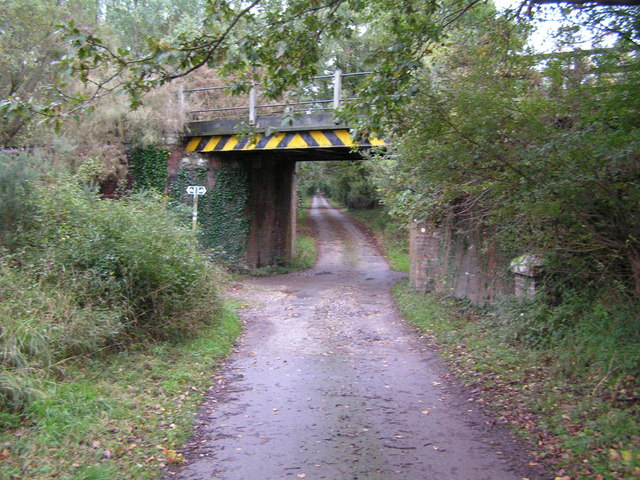Railway bridge near Furzebrook.