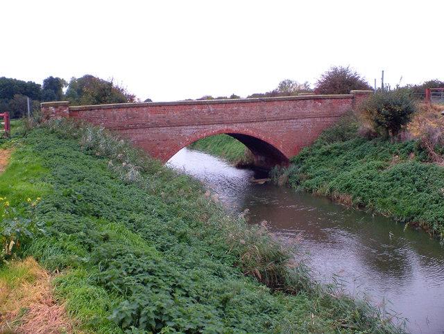 Bridge over East Drain