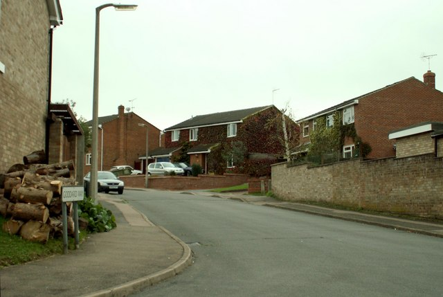 Modern housing at Goddard Way