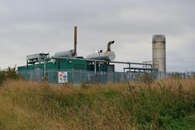 Micro Power Station near St Mary Hoo
