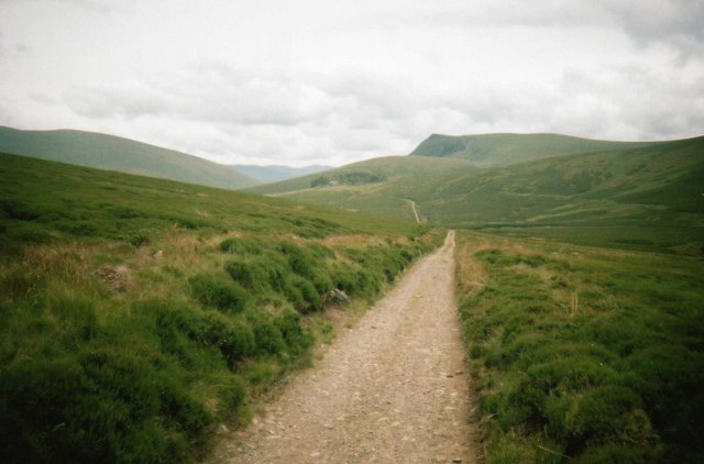 Track to Skiddaw House