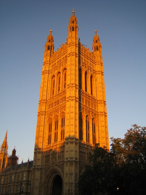 Palace of Westminster: Victoria Tower
