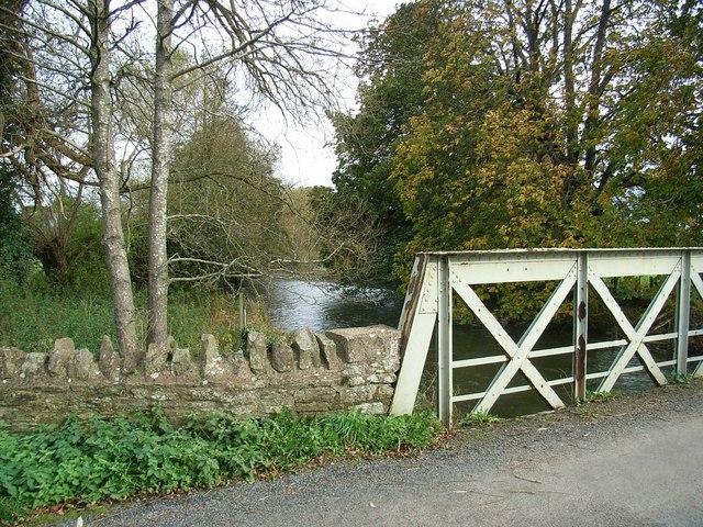 Buckton Bridge & River Teme