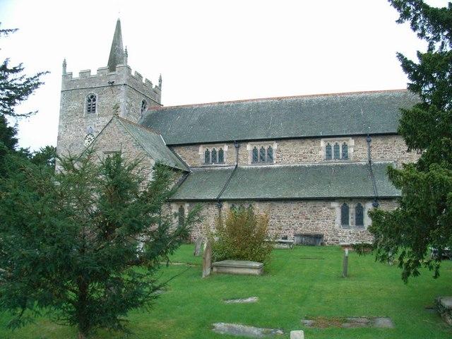 St. Aelhaiarn's Church, Guilsfield
