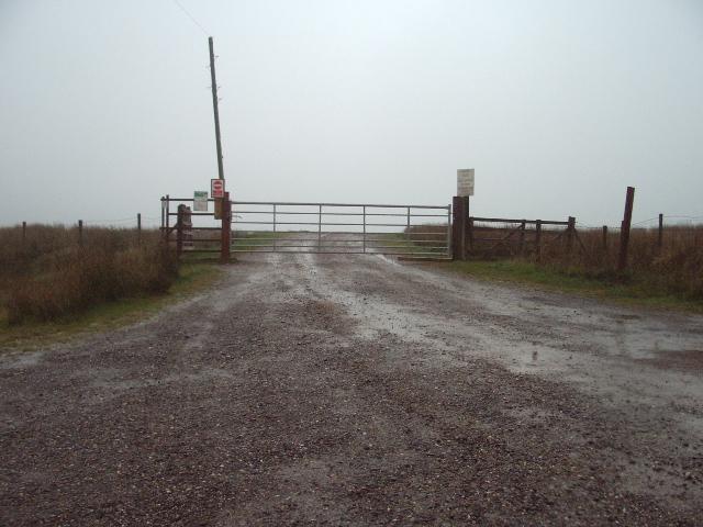 Entrance to Fish Lake