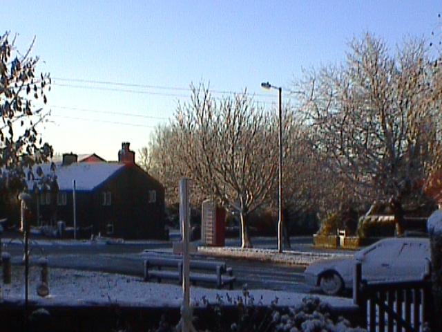 Winter's morning in Denshaw