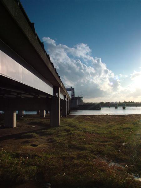 Below Breydon Bridge