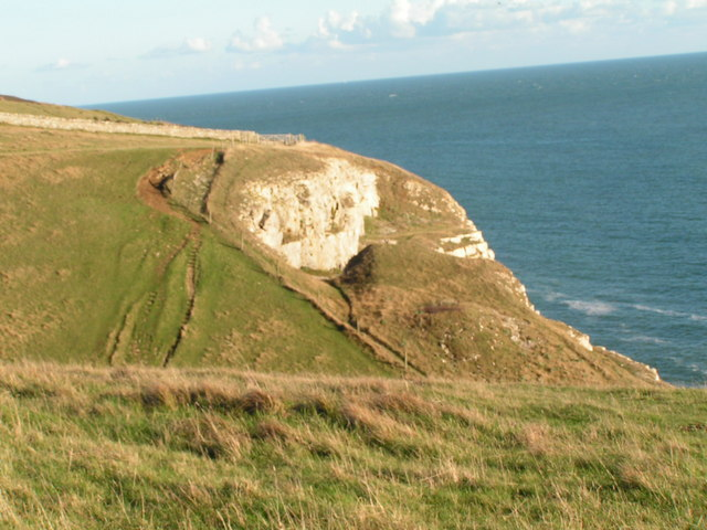 Cliffs east of Dancing Ledge