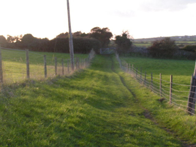 The Priest's Way looking west, near Herston