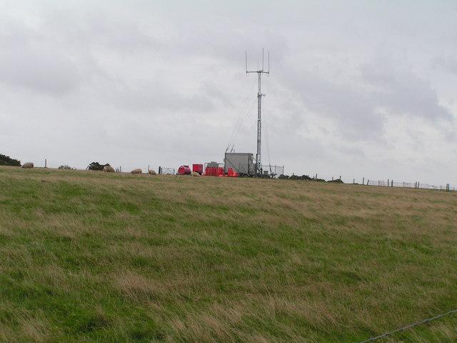 Mobile transmitter, Godlingston Hill