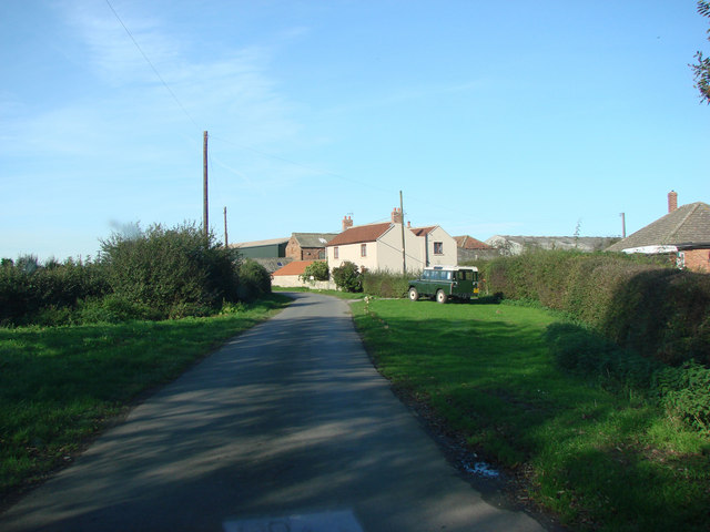 Farm and farm buildings, Middle Lane, Nr Holme.