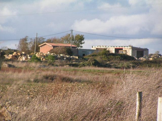 Quarry buildings near Worth Matravers