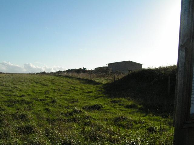 Quarry buildings near Langton Matravers
