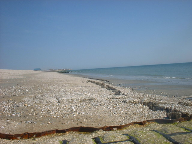 West Sands beach at Selsey
